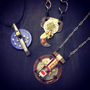 necklaces by monkeygirl artwork
